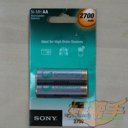 SONY雷火官网下载电池2700/NH-AA-B2FN