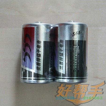 555大铁电池/16合*12粒/合