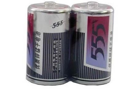 散装555大铁电池大号
