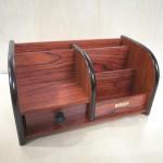 盛木组合笔筒木质/SM-1037