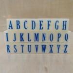亚信组合字母印016/S-2/5套/条