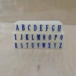 亚信组合字母印017/S-3/10合/条