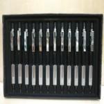 宝克金属自动铅笔/ZD123/0.7/12支/盒