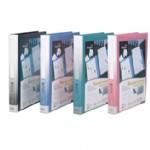 齐心资料册/NF407A-S/40袋30孔塑胶夹/20个/件/741号
