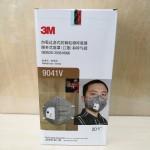 3M口罩9041V/耳带式/带呼吸阀/20个/合