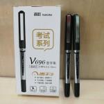 真彩直液式速干签字笔/V696/0.5MM/黑色/12支