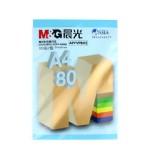 晨光彩色复印纸/深蓝/80G/A4/100张/25包