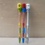 百思得卡通头活动铅笔/MP-8612/0.5/48支/盒