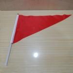 小三角旗/红色/带胶管/100面/包