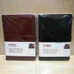 红缘简约扣带记事本/HY-8125/14*20.5CM/40本/盒