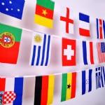 外国串旗13.5×21