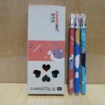 知心可擦笔/黑色/0.5/G-29550/12支/盒