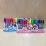 紫鼠可洗水彩笔1103/12色/144排/458号