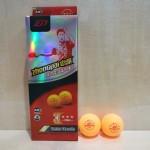 中派三星A40+比赛乒乓球/黄/P083/10个*30盒/中盒