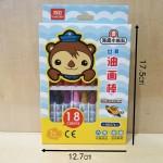 真彩油画棒HD576-18/18合/盒