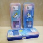 小灵精透明盖套装笔盒/B-683/12个/盒