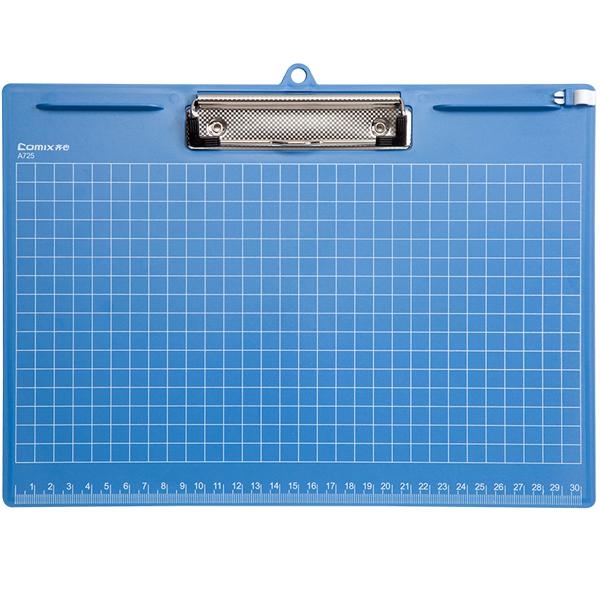 齐心写字板A725/横式/蓝/40块/件/469号