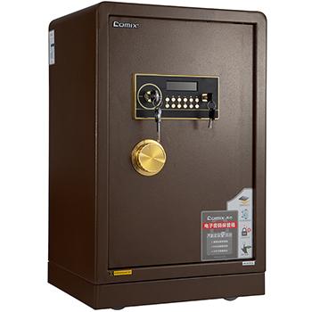 齐心电子密码保管箱/BCX-2068/棕色/973号