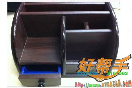 鑫达木质笔筒XD-5018