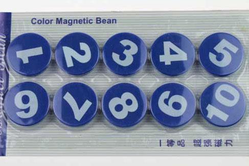富尼圆形数字磁粒CT-366/10粒/卡