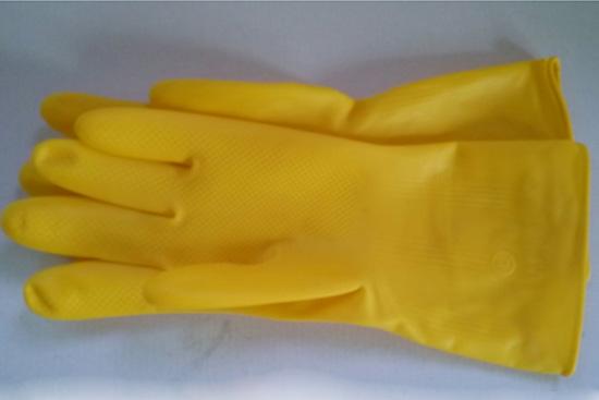 百洁加厚乳胶手套