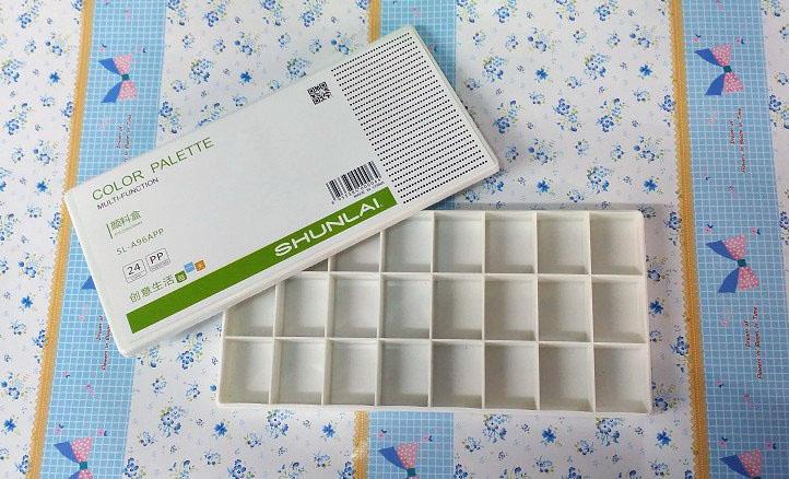 虹影调色盒25格/HB-625/60个
