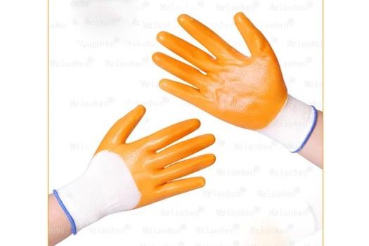 厚全挂涂胶手套