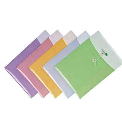 齐心双色档案袋A1829/10个