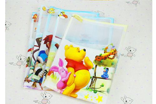 亮彩A4活动书套卡通H265/10个/包