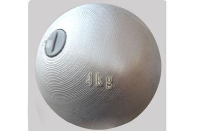 铅球4公斤