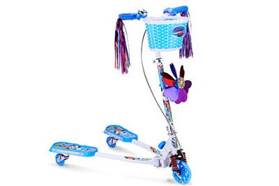 小米高PU闪光灯3轮滑板车QL-51