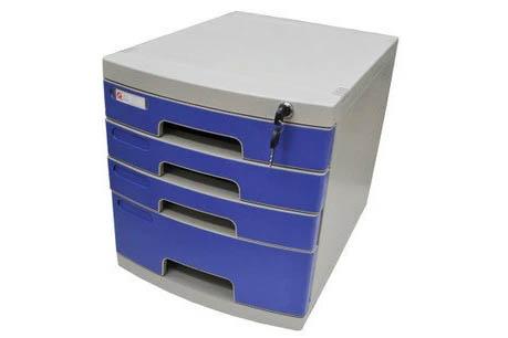 富强文件柜四层2613A/三层大一层小/ 1个/件/004号