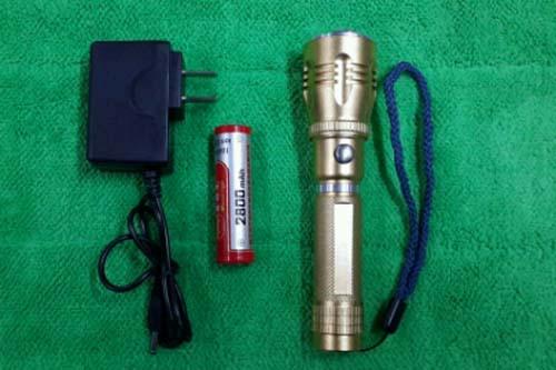 森林虎正品3W强光手电筒SLH-H610