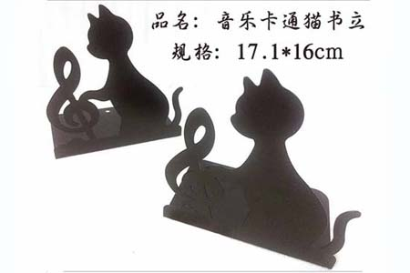 音乐卡通猫书立MQ1350