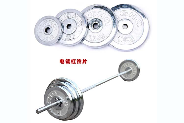 30公斤电镀杠铃