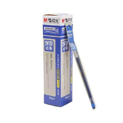 晨光中性笔芯/AGR640C3/0.5MM/蓝/20支