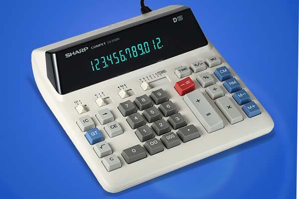 正SHARP声宝计算机CS-2122H/6台/件