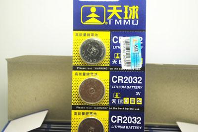 天球CR2032电子/20排*5粒/排