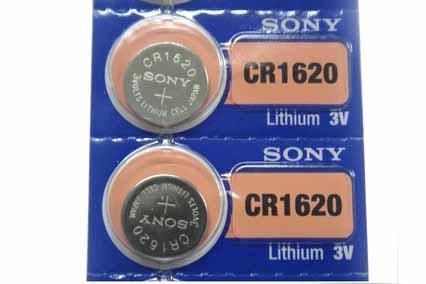 SONY电子CR1620/5粒/排