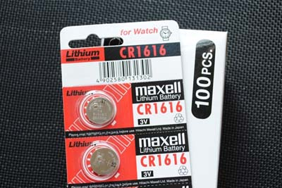 MAXELL万胜电子CR1616/5粒/排